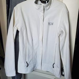 Mountain Hardware, soft shell, white, jacket